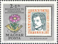 [Stamp Exhibition BUDAPEST 71 - The 100th Anniversary of the Hungarian Stamps, Typ CSK]