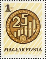 [The 25th Anniversary of Planned Economy, type CWZ]