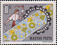 [Opening of Museum of Textile Techniques, Budapest, type CXT]