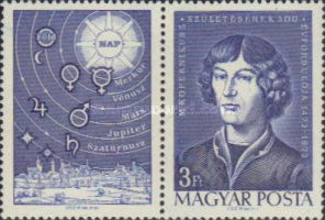 [The 500th Anniversary of the Birth of Nicolaus Copernicus, 1473-1543, Typ CYO]