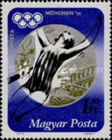 [Medal Wins at the Olympic Games in Munich, Typ CYT]
