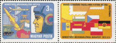 [Philatelic Exhibition of Military Stamp Collectors of Warsaw Treaty Member States, Typ CZH]