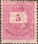[Kingdom of Hungary; Definitive Issue - Coloured Values, Not Watermarked. See also No.21-25, type D2]