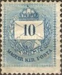 [Kingdom of Hungary; Definitive Issue - Coloured Values, Not Watermarked. See also No.21-25, type D3]