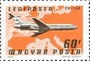 [Airmail Stamps, Typ DNB]