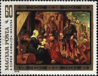 [The 450th Anniversary of the Death of Durer, 1471-1528, Typ DRC]