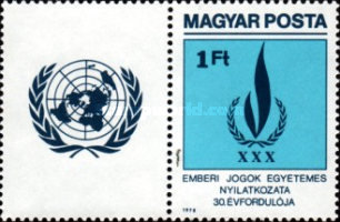 [The 30th Anniversary of the Universal Declaration of Human Rights, Typ DRJ]