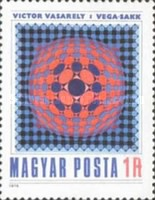 [Paintings by Victor Vasarely, 1906-1997, Typ DTF]