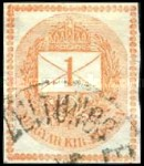 [Newspaper Stamp b- See also No.20, Typ E2]