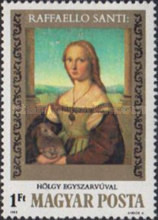 [The 500th Anniversary of the Birth of Raphael, 1483-1520, Typ ECB]