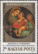 [The 500th Anniversary of the Birth of Raphael, 1483-1520, Typ ECE]
