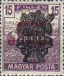 [Reaper Stamps of 1919 Overprinted - No. 295-305, type EJ6]