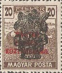[Reaper Stamps of 1919 Overprinted - No. 295-305, type EJ7]