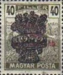 [Reaper Stamps of 1919 Overprinted - No. 295-305, type EJ9]