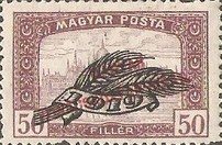 [Parliament Stamps of 1919 Overprinted - No.306-314, Typ EU]