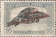 [Parliament Stamps of 1919 Overprinted - No.306-314, Typ EU1]