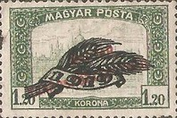[Parliament Stamps of 1919 Overprinted - No.306-314, Typ EU3]