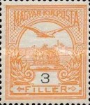 [Turul over Crown of Saint Stephen, type F2]