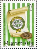 [The 100th Anniversary of the Ferencvaros Gymnastics Association, Typ FLU]