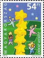 [EUROPA Stamps - Tower of 6 Stars, Typ FNY]