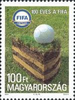 [The 100th Anniversary of the International Federation of Association Football - FIFA, Typ FYE]
