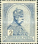 [King Franz Joseph - Different Watermark, type G12]