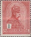 [King Franz Joseph - Different Watermark, type G16]