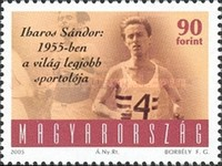 [The 75th Anniversary of the Birth of Sandor Iharos, 1930-1996, Typ GDX]