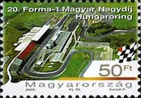 [Advertisement Stamps - Hungaroring, Typ GFB]