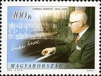 [The 100th Anniversary of the Birth of Ferenc Farkas, 1905-2000, Typ GFN]