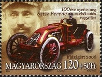[The 100th Anniversary of the Victory of Ferenc Szisz on the First Grand Prix, France, Typ GHI]