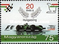 [The 20th Anniversary of the Hungaroring Racetrack, Typ GIE]