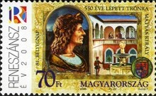 [Stamp Day - The 550th Anniversary of the Election of Matyas, Typ GNP]