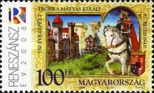 [Stamp Day - The 550th Anniversary of the Election of Matyas, Typ GNQ]