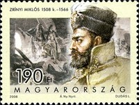 [The 500th Anniversary of the Birth of Miklos Zrinyi, 1508-1566, Typ GPH]