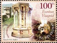 [Stamp Day - The 1000th Anniverdary of the City of Visegrád, Typ GRG]