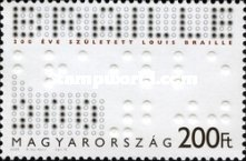[The 200th Anniversary of the Birth of Louis Braille, 1809-1852, Typ GSJ]