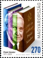 [The 100th Anniversary of the Birth of Sándor Püski, 1911-2009, type GWO]