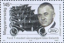 [The 100th Anniversary of the Start of the Mass Production of Model T Ford under József Galamb, 1881-1955, Typ HAQ]