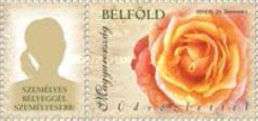 [Personalized Greetings Stamps - Roses, Typ HDA]
