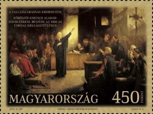 [Paintings - The 450th Anniversary of the Beginning of Religious Tolerance, Typ HQF]