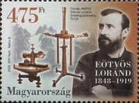 [The 100th Anniversary of the Death of Loránd Eötvös, 1848-1919, type HST]