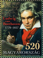 [The 250th Anniversary of the Birth of Ludwig van Beethoven, 1770-1827, type HVR]