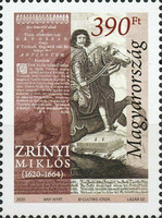 [The 400th Anniversary of Birth of Miklós Zrínyi, 1620-1664, type HVZ]