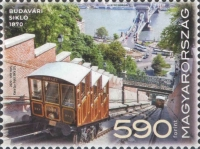 [The 150th Anniversary of the Buda Castle Funicular Railway, type HWO]