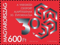 [The 30th Anniversary of the Visegrad Group - Joint Issue with Czech Republic, Poland, and Slovakia, type HYL]