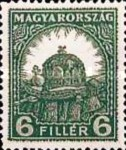 [Definitive Issue - Crown of Saint Stephen & Matthias Cathedral - Different Perforation, type IY10]