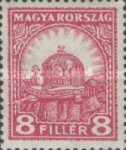 [Definitive Issue - Crown of Saint Stephen & Matthias Cathedral - Different Perforation, type IY11]