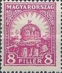 [Definitive Issues - Crown of Saint Stephen, Matthias Cathedral & Palace at Budapest, type IY5]