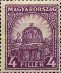 [Definitive Issue - Crown of Saint Stephen & Matthias Cathedral - Different Perforation, type IY9]